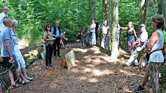 Benther Bergterrassen: Klangkunst erweckt Ruinen zu neuem Leben