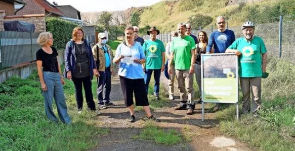 Kalihalde: Bürgerinitiative startet Umfrage