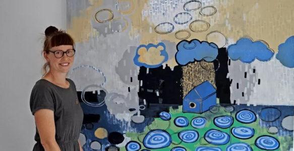 Werke rund ums Wasser: Nach langer Pause erste Ausstellung im Kunstraum Benther Berg