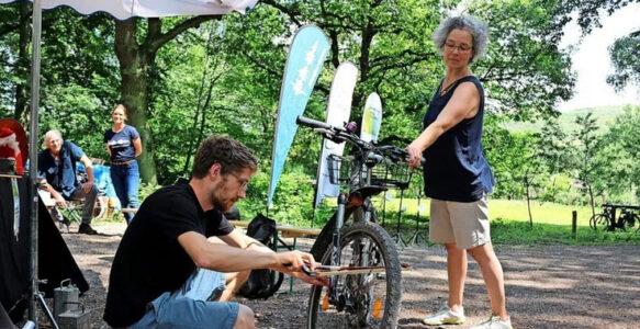 Klang-TÜV entlockt sogar Fahrradspeiche ungeahnte Geräusche