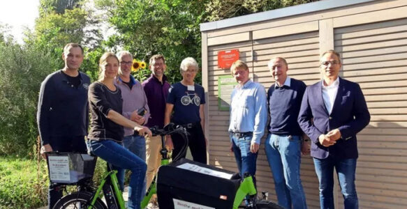 Benthe-Mobil: Benther Kirchengemeinde verleiht ab sofort Elektro-Lastenrad